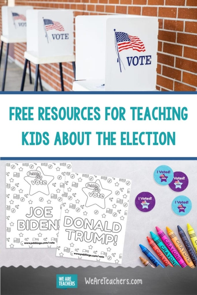 This Website Has Tons of Free Resources for Teaching Kids About the Election
