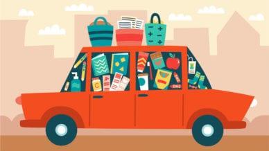 Teacher Car Items