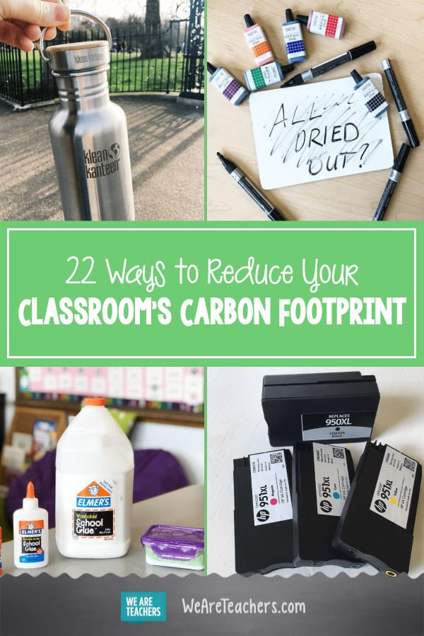 22 Ways to Reduce Your Classroom's Carbon Footprint
