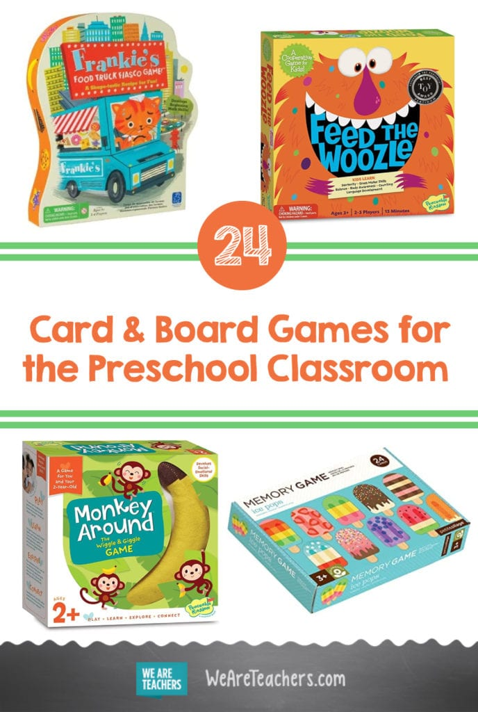 24 Great Card Games and Board Games for the Preschool Classroom