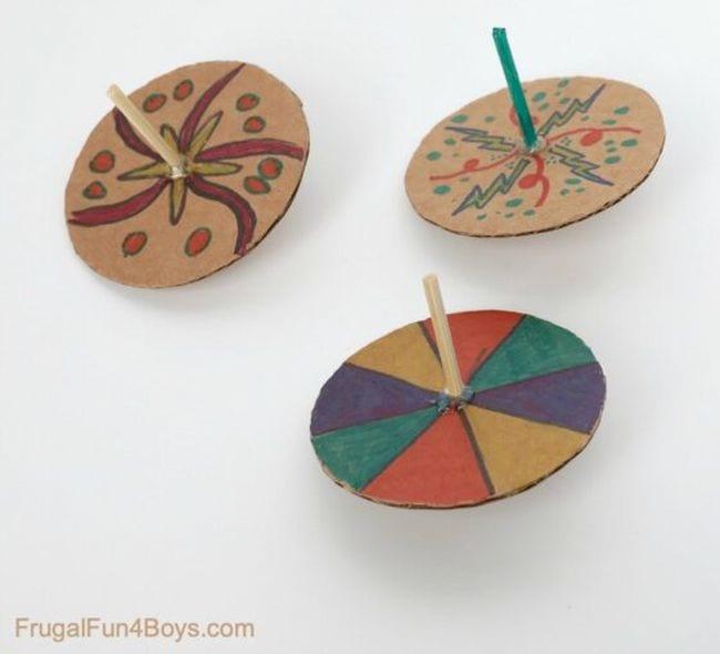 Cardboard Activities Frugal Fun 2