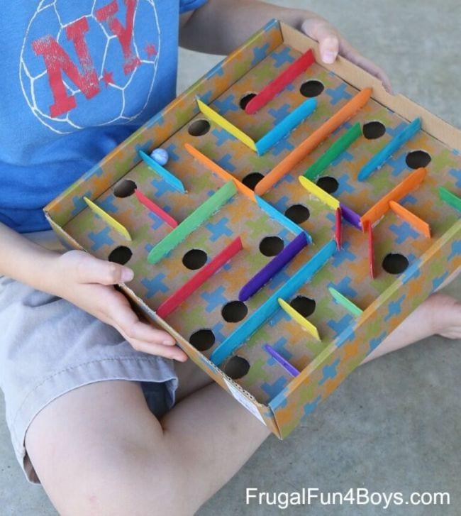 Cardboard Activities Frugal Fun