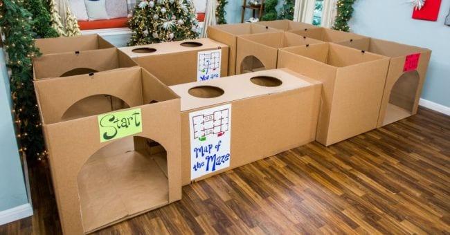 Cardboard Activities Hallmark Channel