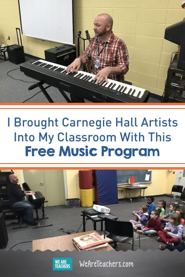 I Brought Carnegie Hall Artists Into My Classroom With This Free Music Program