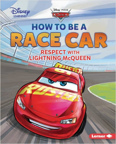 Character Education Book Cover - How to Be a Race Car