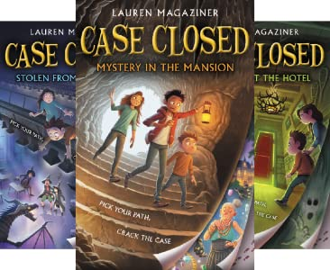 book covers from the Case Closed series