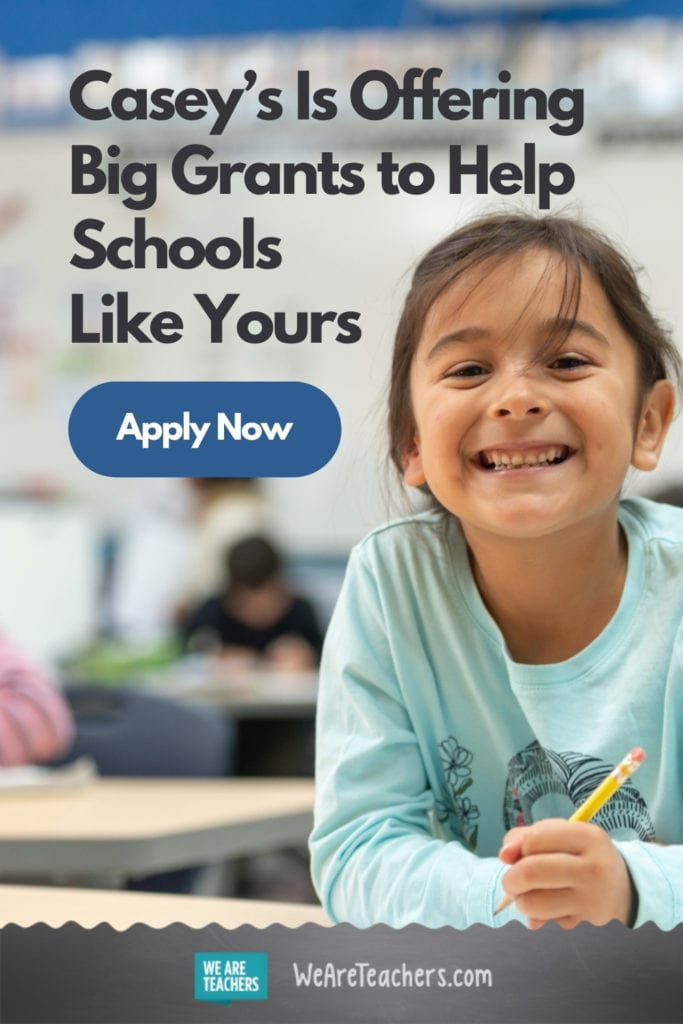 Casey's Is Offering Big Grants to Help Schools Like Yours