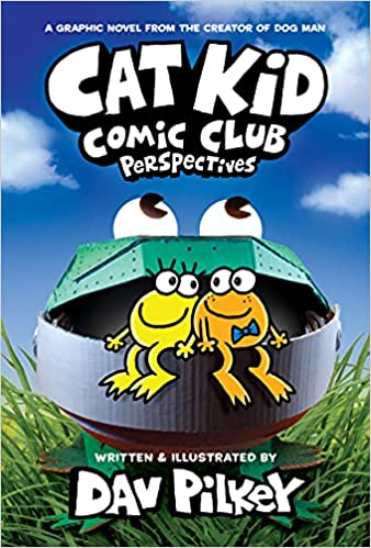 Book cover for Cat Kid Comic Club Book 2 as an example of graphic novels for kids