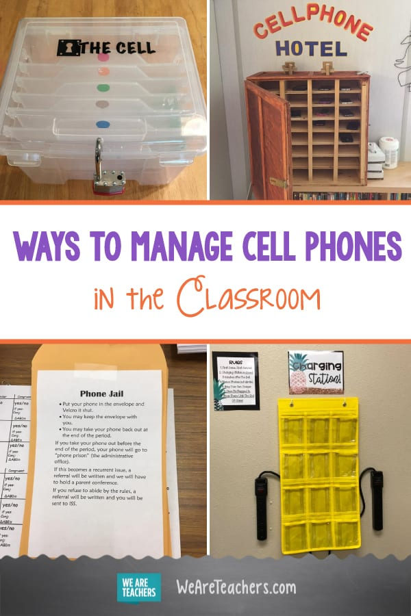 Cell Phones in Class Driving You Nuts? Try One of These Clever Ideas