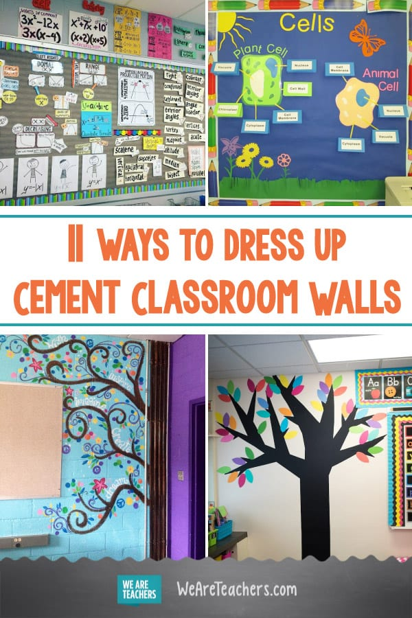 Teachers Who Totally Conquered Their Cement Classroom Walls