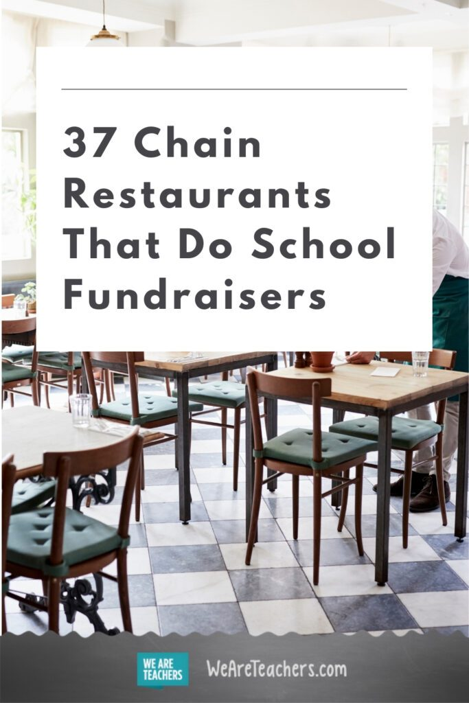 37 Chain Restaurants That Do School Fundraisers
