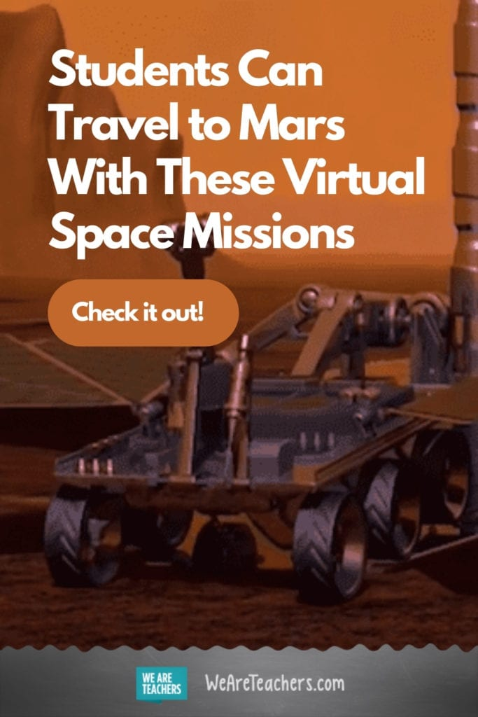 3, 2, 1 ... Blast Off! Students Can Travel to Mars With These Virtual Space Missions