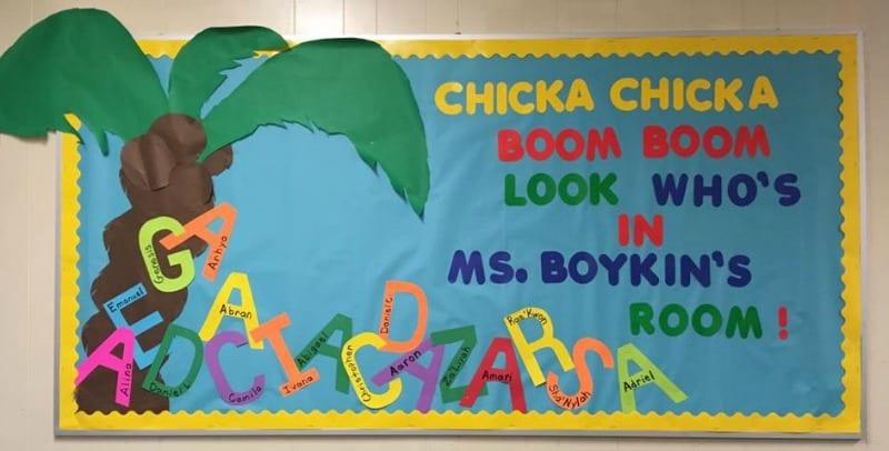 Chicka Chicka Boom Boom Bulletin