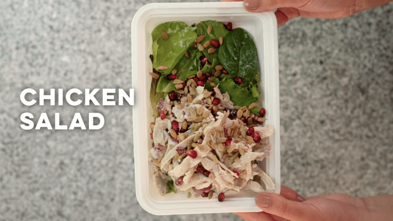 5 Easy Meals You Can Make with a Single Rotisserie Chicken - Chicken Salad