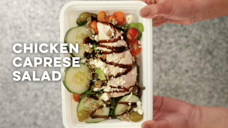 5 Easy Meals You Can Make with a Single Rotisserie Chicken - Chicken caprese salad