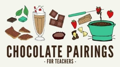 Chocolate Pairings for Teachers