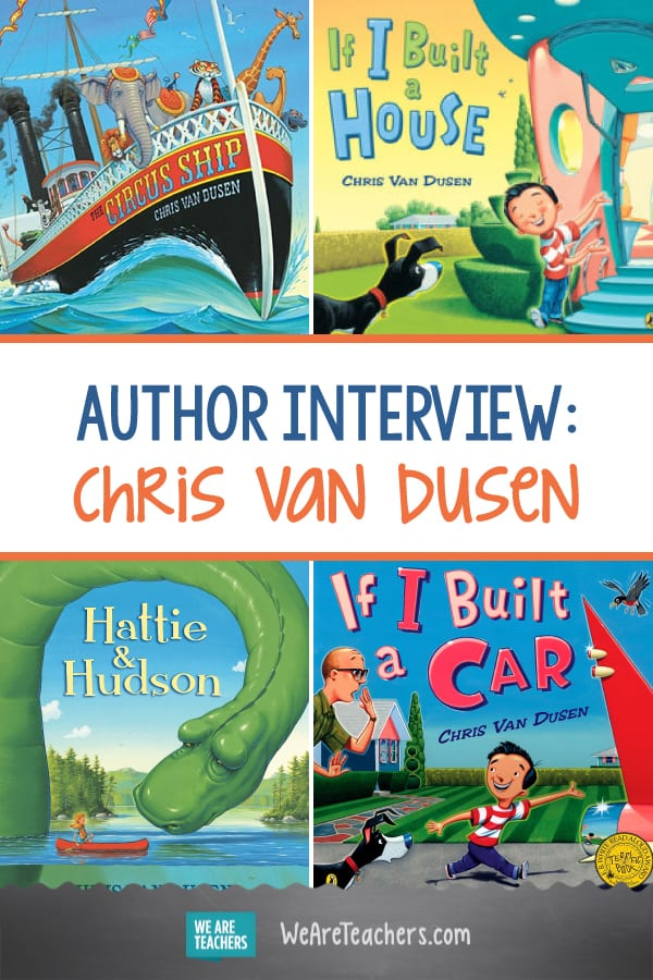 We Talk With Author Chris Van Dusen About His New Book, If I Built a School