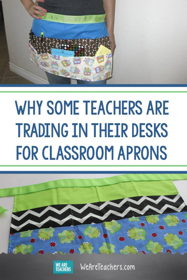 Why Some Teachers Are Trading in Their Desks for Classroom Aprons