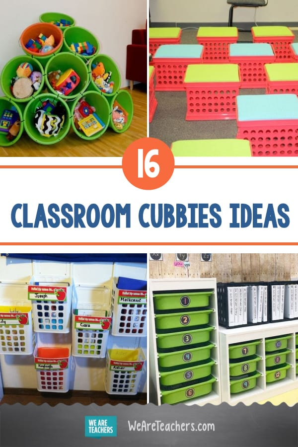 These DIY Classroom Cubbies Will Make Your Classroom Organization Shine