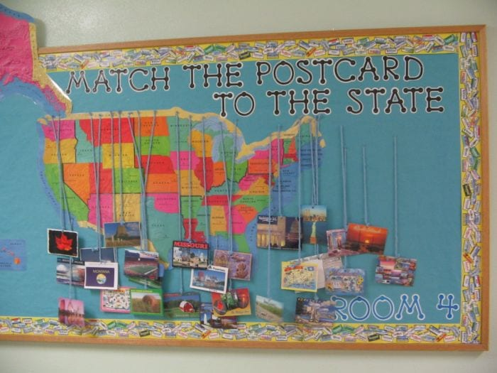 Classroom Postcard Exchange Francies Focus