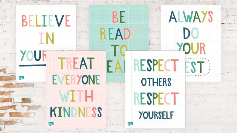 5 of the Best Classroom Rules Posters Every Teacher Needs