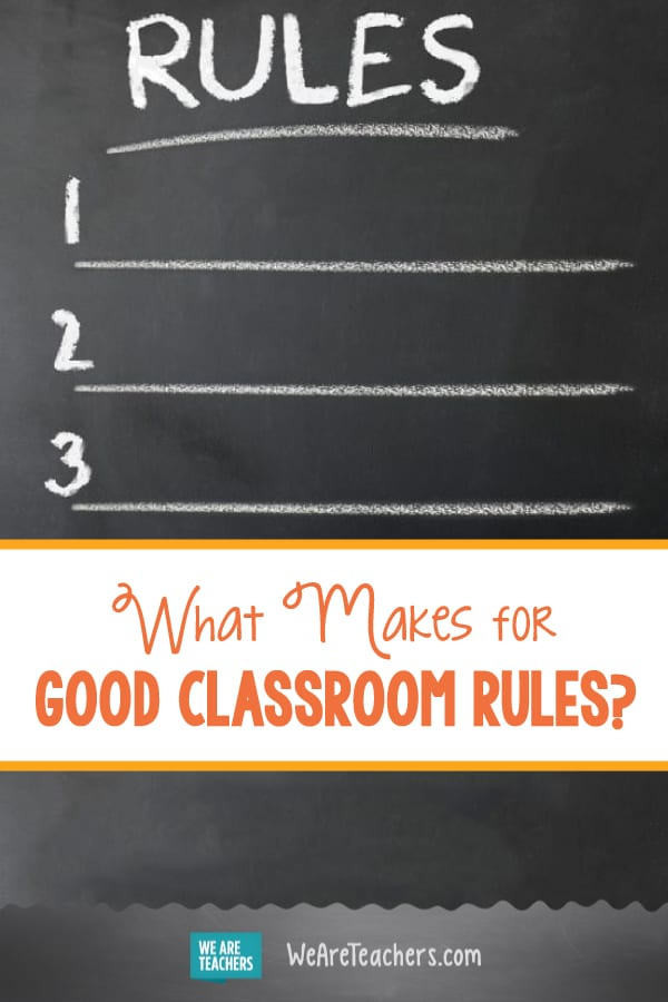 What Makes for Good Classroom Rules?