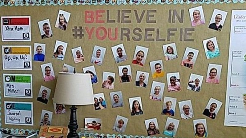 Classroom Selfies Ideas and Projects