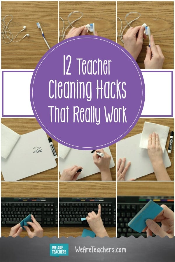12 Teacher Cleaning Hacks That Really Work
