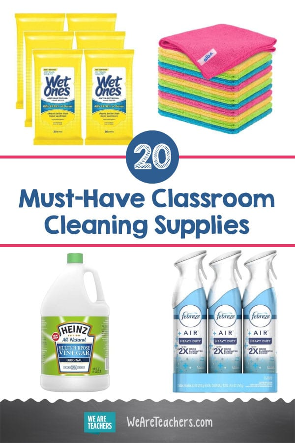 20 Must-Have Classroom Cleaning Supplies (Trust Us, You Need These!)
