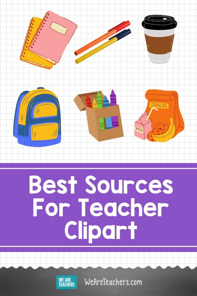 Best Sources For Teacher Clipart (Including Lots of Free Options!)