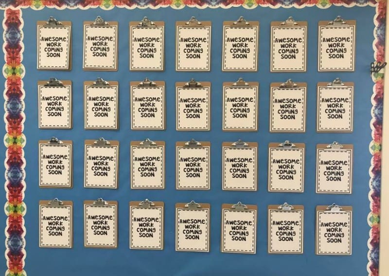Class Wall Decoration for Kindergarten