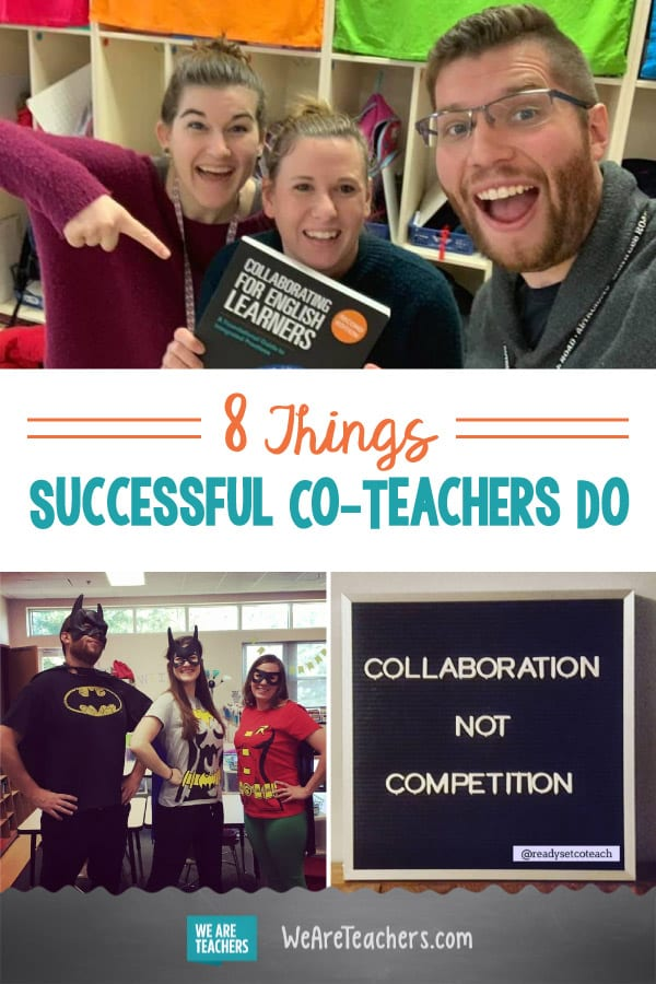 8 Things Successful Co-Teachers Do
