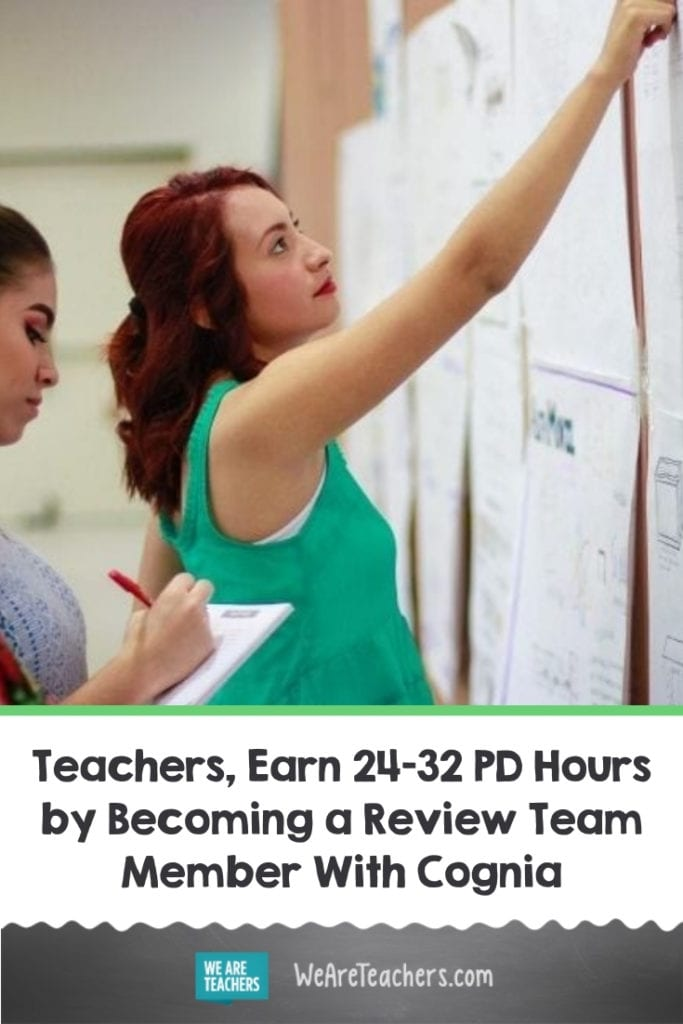 Teachers, Earn 24-32 PD Hours by Becoming a Review Team Member With Cognia