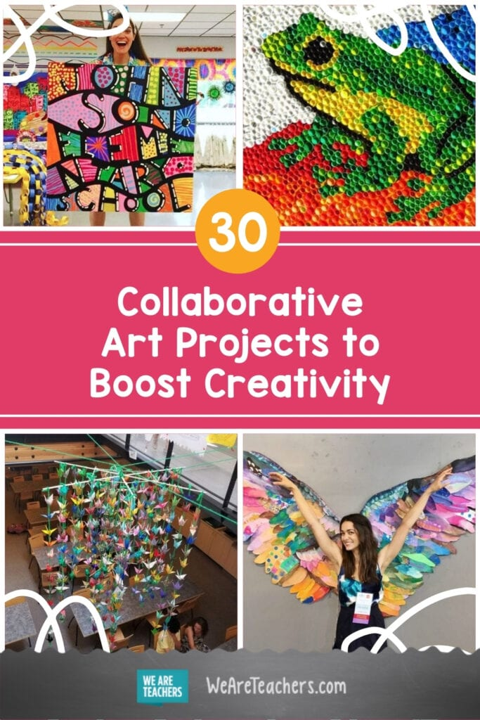 30 Collaborative Art Projects That Bring out Everyone's Creative Side