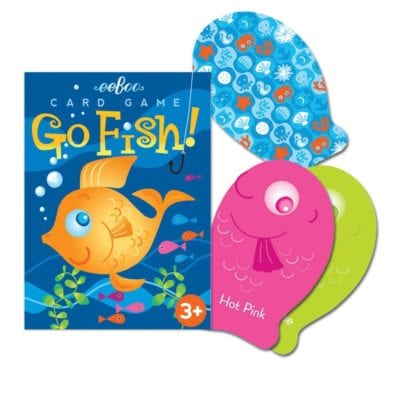 Best board games for preschoolers - Go Fish!