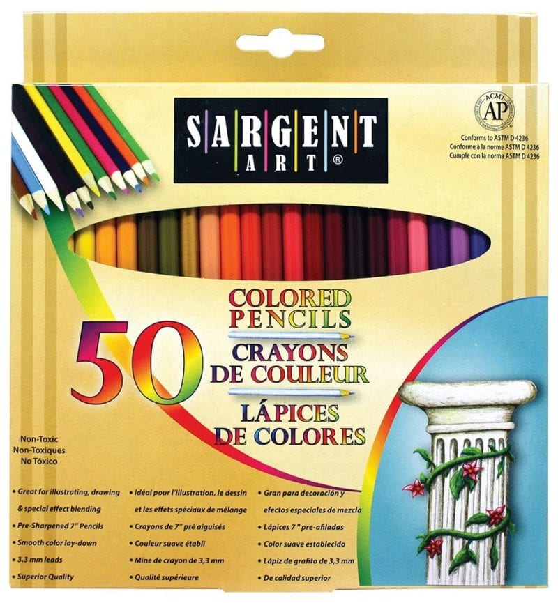 Colored Pencils - Art Supplies Under $10