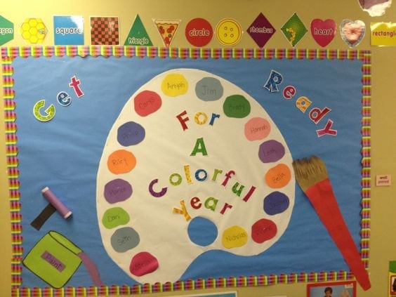 20 Rainbow Bulletin Boards for a Colorful Classroom ...