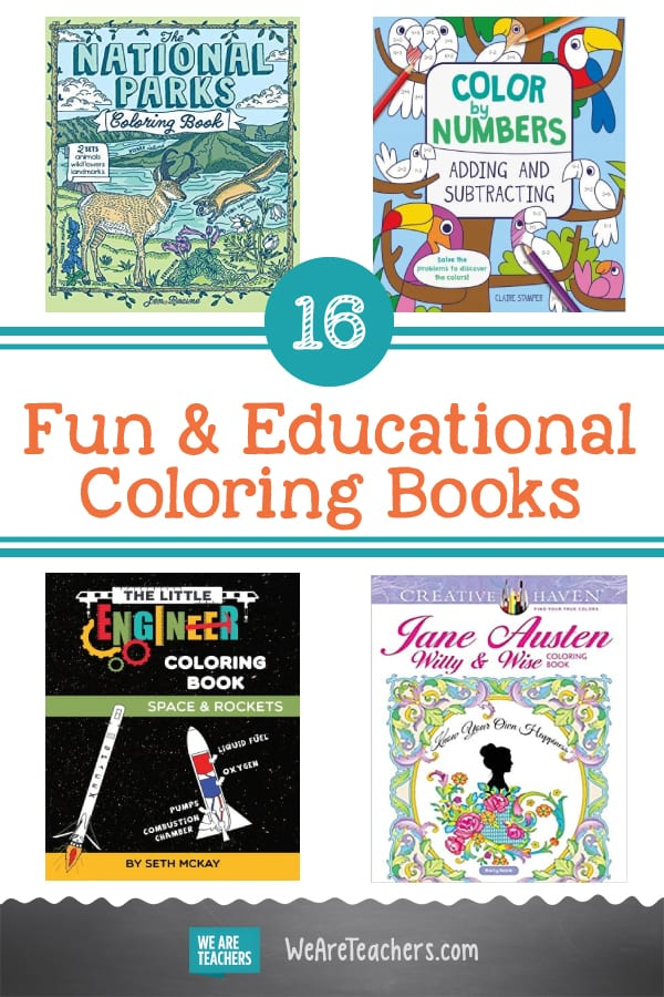 16 Coloring Books That Will Help Kids Learn Cool Things, Too