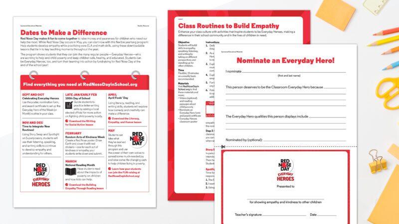 Printed SEL resources