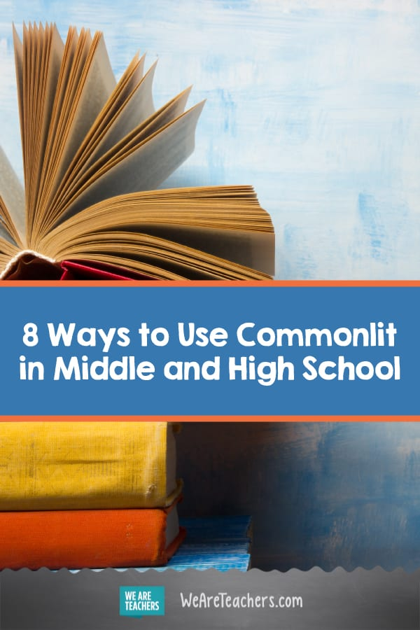 Commonlit - Teacher Ideas for Using it in the Classroom