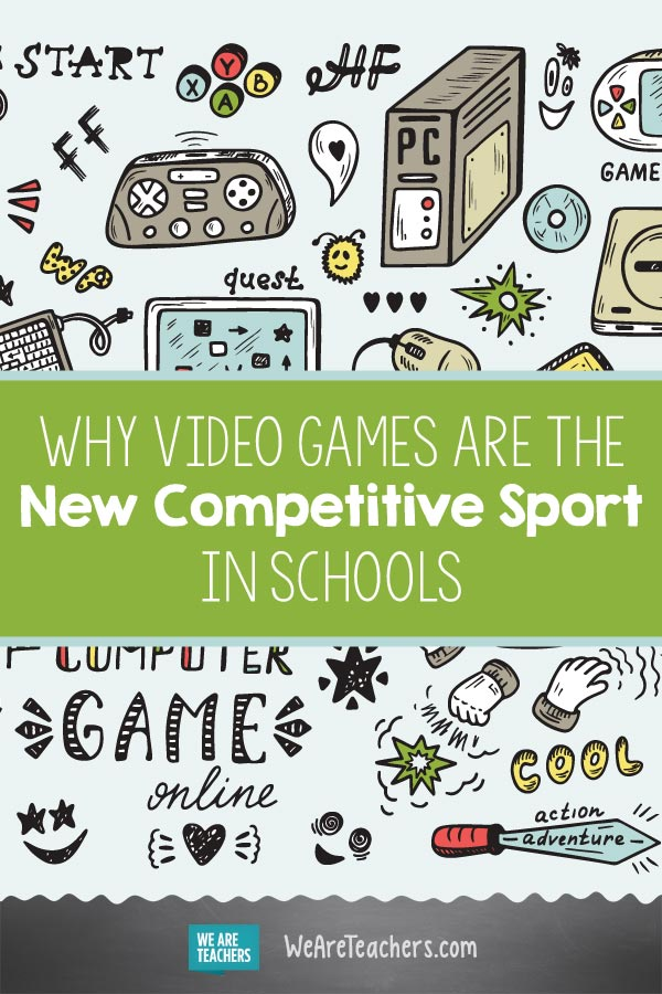 Video Games Are the New Competitive Sport in Schools