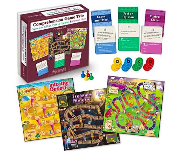 Comprehension board game