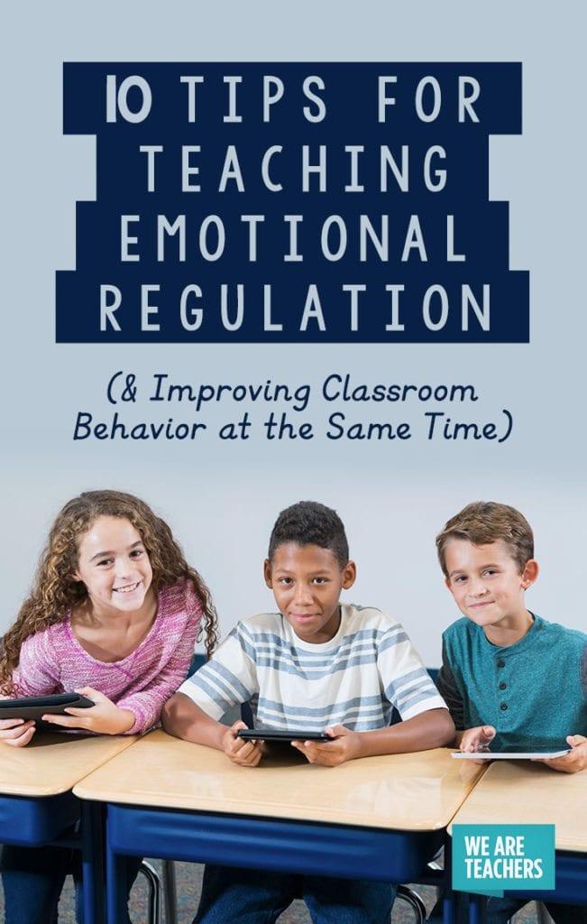 10 tips for teaching emotional regulation