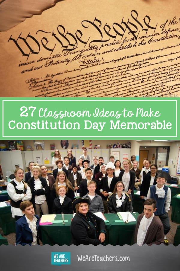 27 Classroom Ideas to Make Constitution Day Memorable