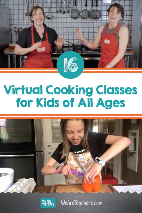 16 Virtual Cooking Classes for Kids of All Ages