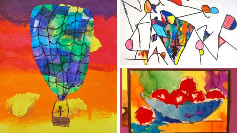 Best 1st Grade Art Projects