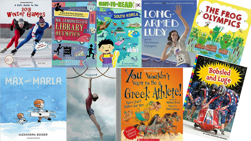 Best Olympic Books for the Classroom