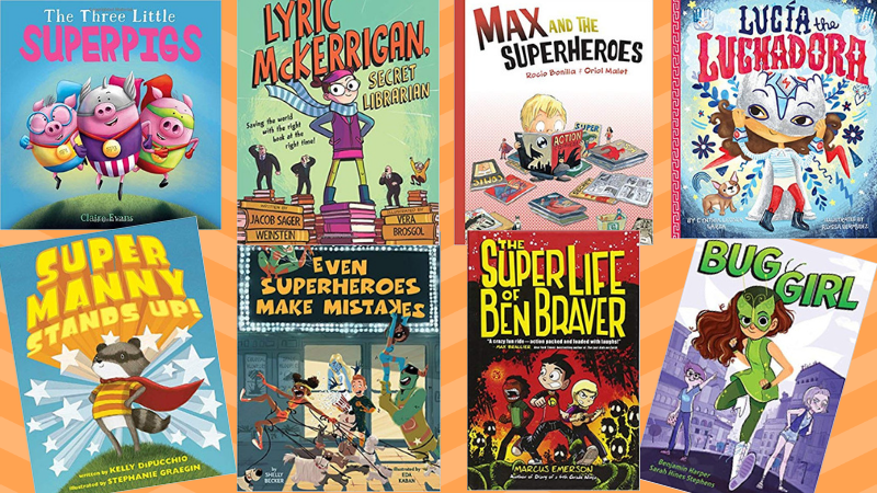 Best Superhero Books for Kids