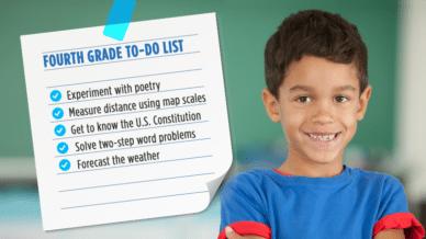 Fourth Grade To do list