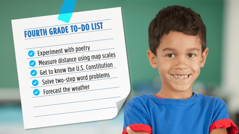25 Things Every 4th Grader Needs to Know - WeAreTeachers